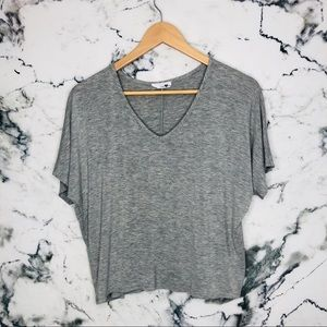 🌼3/$25🌼Mady & Nell Grey Crop Top Women Medium
